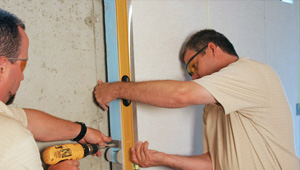 installing a basement wall finishing system in Parkville