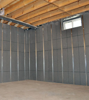 Basement to beautiful insulated wall panels in baltimore for Foundation blanket insulation