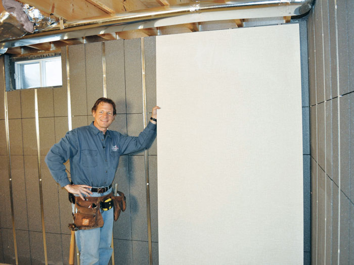 Basement ... & Basement To Beautiful Insulated Wall Panels in Baltimore ...