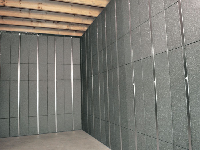 Basement to beautiful insulated wall panels in baltimore for Basement wall insulation blanket