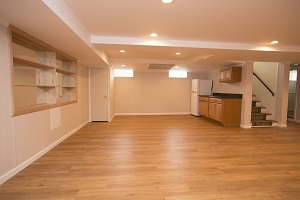 Basement finishing flooring in Philadelphia & nearby