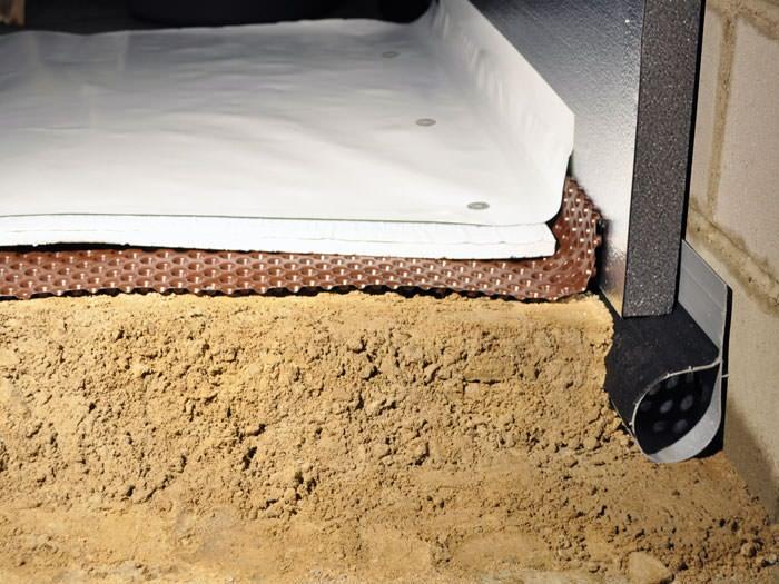 Crawl Space Insulation With Terrablock In Pennsylvania