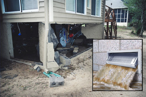 Foundation Flood Vents Smart Vent Flood Protection Vents On Greater Philadelphia And Baltimore Pennsylvania Delaware And Maryland