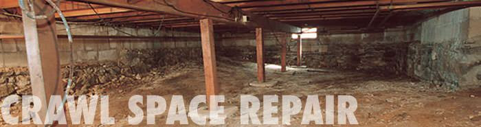 Basement Systems USA are the crawlspace repair experts!