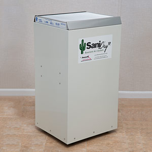 SaniDry™ XP upright dehumidifier