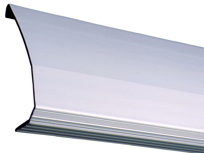 A Closeup Look At Our Baseboard Drain Pipe System