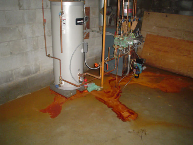 in wet basements waterproofing a basement with iron bacteria issues