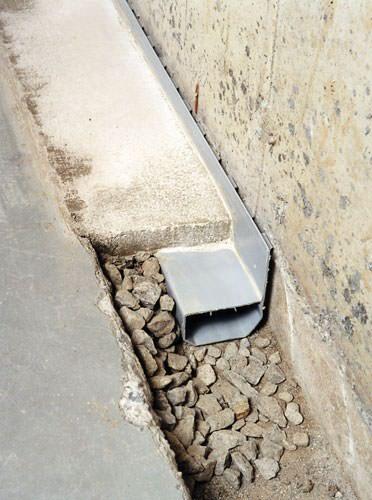French drain system installation baltimore philadelphia