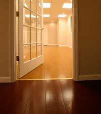 Basement Wood Flooring installed in Dundalk, Pennsylvania, Delaware, and Maryland