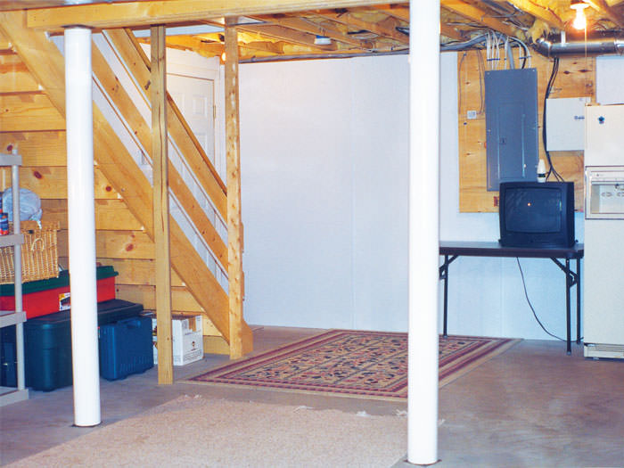 basement wall system waterproof beautify your unfinished basement
