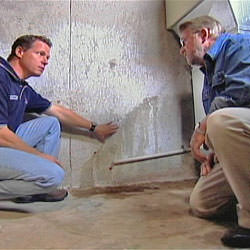 creating a basement waterproofing system with contractors in Media